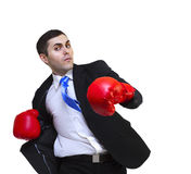 Business fighter Stock Photo