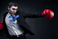 Business fighter Stock Photography