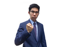 Business fighter.Confidence way to success Stock Photos