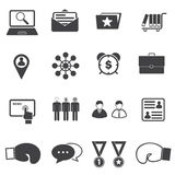 Business Fighting icons Royalty Free Stock Photo