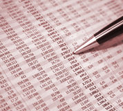 Business figures stock images