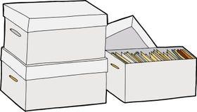Business File Storage Royalty Free Stock Photos
