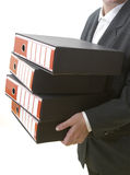 Business files 1 Stock Photo