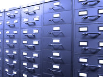 Business Filing Cabinets Stock Photography