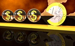 Business Finance. 3d Presentation Business, Logo and Symbol Royalty Free Stock Images