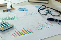 Business finance, accounting stock image