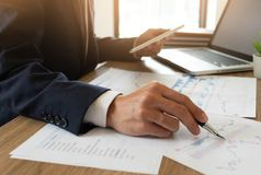 Business finance, auditing, accounting, consulting Collaboration, consultation stock photos