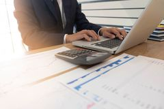 Business finance, auditing, accounting, consulting Collaboration, consultation stock image