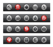 Business & Finance // Button Bar Series Royalty Free Stock Images