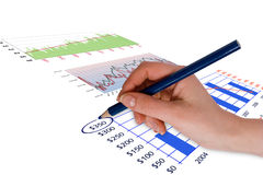 Business  finance concept Stock Photo