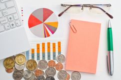Business finance concept Royalty Free Stock Photo