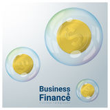 Business and Finance concept background with financial crisis Stock Photos