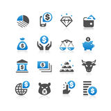 Business finance concept icon Stock Photos