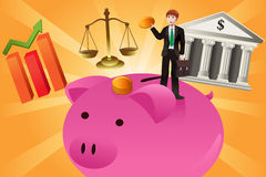 Business and finance concept Stock Images