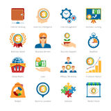 Business And Finance Flat Icons Set Royalty Free Stock Photography