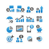 Business Finance icon Royalty Free Stock Photography