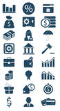Business and finance icon Stock Images