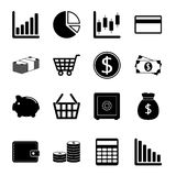 Business and finance icon set. This is file of EPS8 format Royalty Free Stock Image
