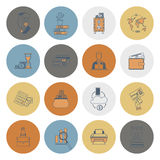 Business and Finance Icon Set Stock Image