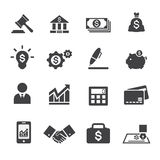 Business and finance icon Royalty Free Stock Image