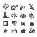 Business and finance icon. Web icon illustration design vector Stock Image