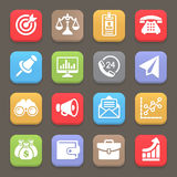 Business and finance icon for web, mobile. Vector Royalty Free Stock Photo