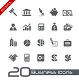 Business & Finance Icons // Basics Royalty Free Stock Image