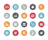 Business & Finance Icons // Classics Royalty Free Stock Photo