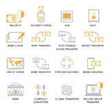 Business Finance Icons Set. Business Finance Icons Set, banking icon set vector illustration Stock Image