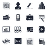 Business & Finance Icons Royalty Free Stock Image