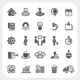 Business and finance icons set. EPS10, Dont use transparency Royalty Free Stock Photo