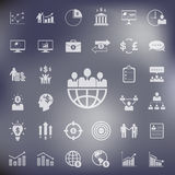Business and finance icons set.vector Stock Image