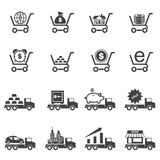 Business Finance Icons set. Vector icons Stock Photo