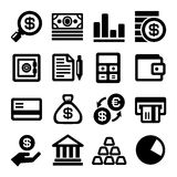 Business and Finance Icons Set. Vector stock illustration