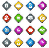 Business and Finance Icons. Business and Finance vector icons for web sites and user interfaces Stock Photo
