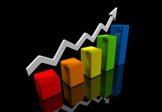 Business finance image Royalty Free Stock Photos