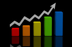 Business finance image Royalty Free Stock Photo