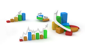 Business finance image Royalty Free Stock Image