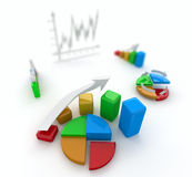 Business finance image Stock Image