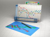 Business finance image Royalty Free Stock Images