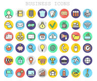 Business and Finance Line Icons Big Set. EPS 10 Stock Photo