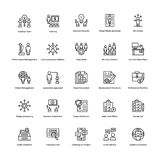 Business and Finance Line Vector Icons 7 Stock Photos