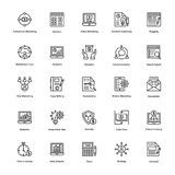 Business and Finance Line Vector Icons 9. Here is a useful Business and Finance Vector Icons pack. Hope you can find a great use for them in finance, money Stock Image