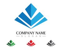 Business Finance Logo Royalty Free Stock Images