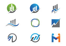 Business Finance Logo Stock Photos