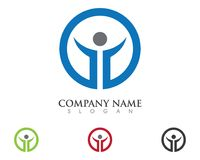 Business Finance Logo template. Business Finance professional logo template vector icon Royalty Free Stock Images