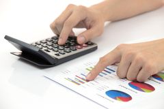 Business finance man Stock Images