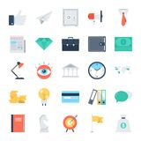 Business and Finance. Modern flat vector illustration of business and finance icon design concept. Icon for mobile and web graphics. Flat symbol, logo creative Stock Photos
