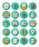 Business and finance modern icons set vector illustration