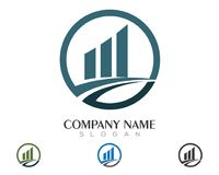 Business Finance professional logo template. Icon Stock Photo